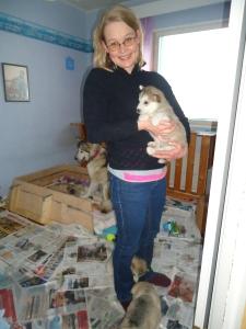 Tiina sai Lunan, joka lähtee sitten asumaan Kuortaneelle :)