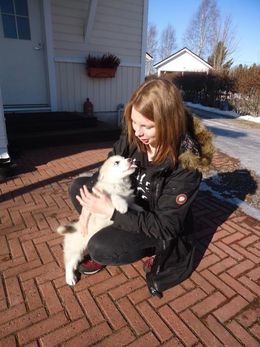 Nina ja Eska kohtaavat ensimmäistä kertaa